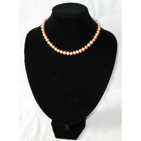 collier perles de culture rose. Black Bedroom Furniture Sets. Home Design Ideas