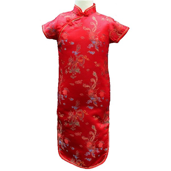Robe en soie de chine