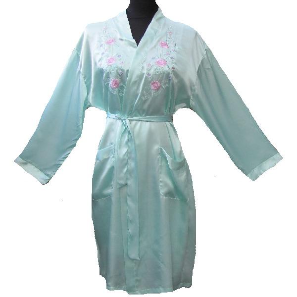 kimono femme court motif bordee. Black Bedroom Furniture Sets. Home Design Ideas