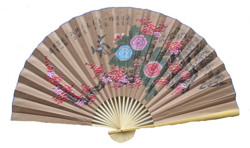 Eventail De Decoration Chinoise