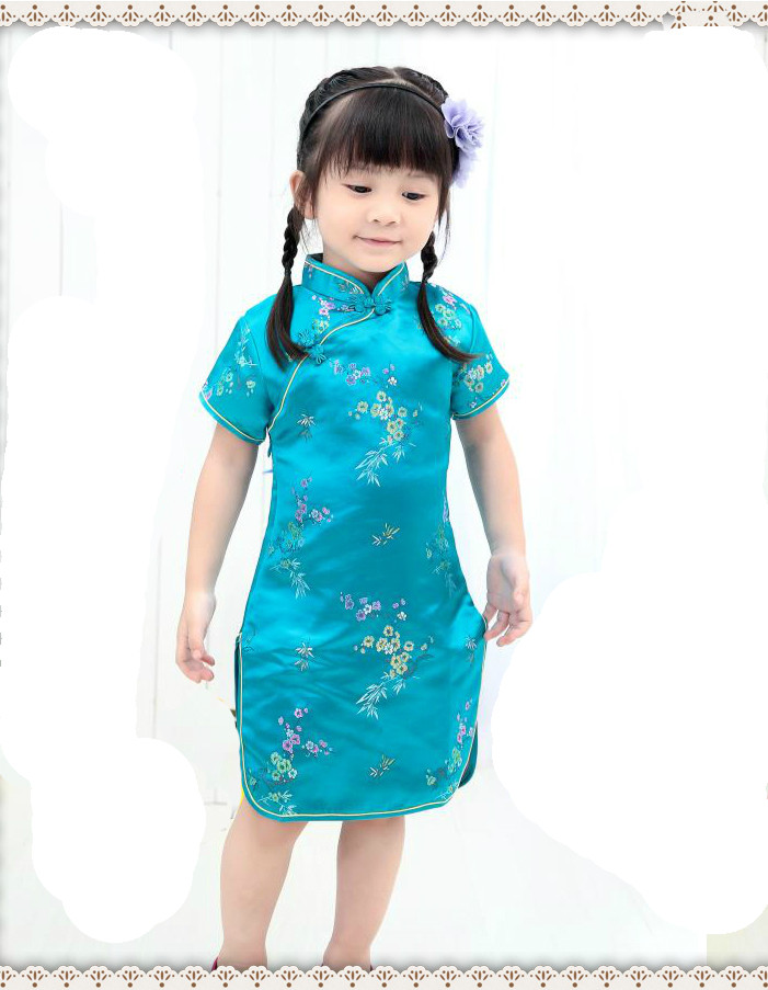 Robe Chinoise Enfant Paris