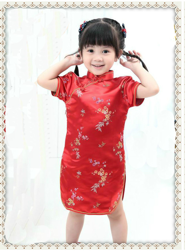 Robe chinoise pour bebe