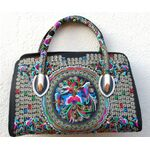 Sac a Main Chinois Motif Bordee