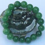 Bijoux Jade Perle Vert Pour Femme