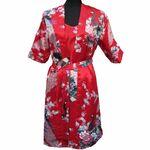 Kimono Court Rouge Motif