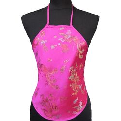 Bustier Top Chinois