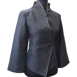 Veste Chinoise Noire Unique