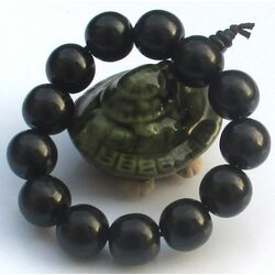 Bracelet En Bois Noir