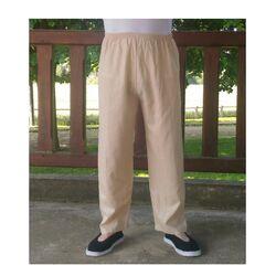 Pantalon Chinois Beige