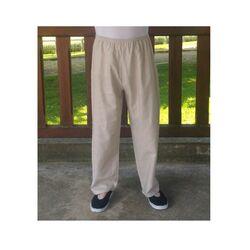 Pantalon Chinois Gris Clair