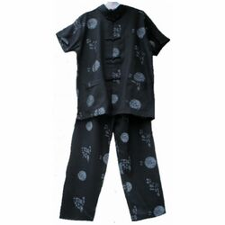 Pyjama Chinois Enfant Manche Courte