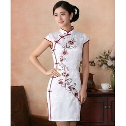Robe Chinoise Courte Pas Cher