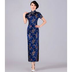 Robe Chinoise Longue Qipao