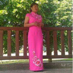 Robe Chinoise Qualite Haut de Gamme