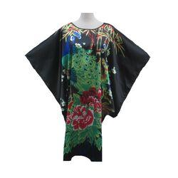 Robe Kimono Courte Noire