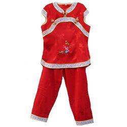 Pyjama Enfant Ensemble Rouge Bonheur