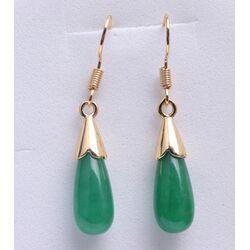 Boucle D'Oreilles Jade