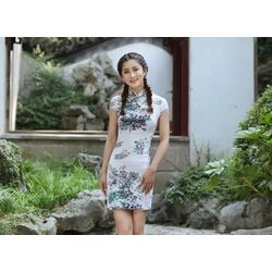 Robe Asiatique Femme