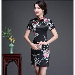 Robe Chinoise Satin