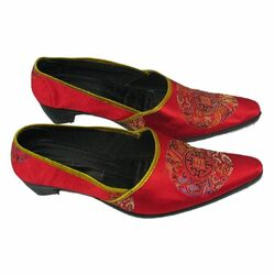 Chaussures Chinoise Rouge