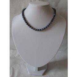 Collier en Perles Noire