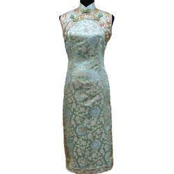 Robe Chinoise Sans Manche Fashion