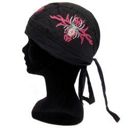 Bandana Chapeau Noir Spider