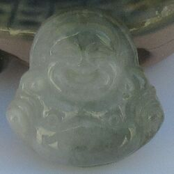 Bouddha en Jade Chinois