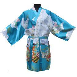 Kimono Bleu Court
