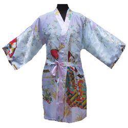 Kimono Japonais Court Rose