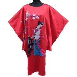 Kimono Robe Court Rouge Bonheur