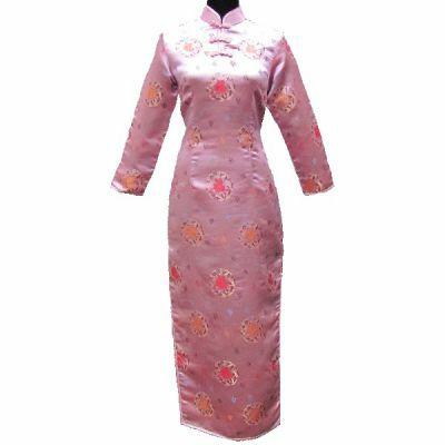 Robe Chinoise Manche Langue