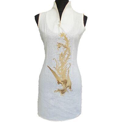 Robe Tunique Coton Blanc