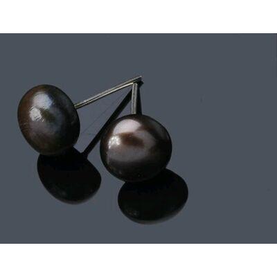 Boucle Orielle Perles de Culture 6MM
