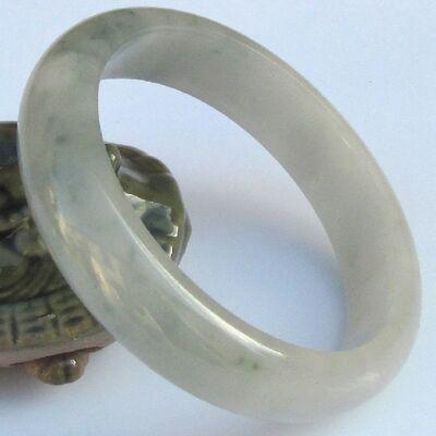 Bracelet Blanc Petit Vert Jade Pas Cher 5.9cm