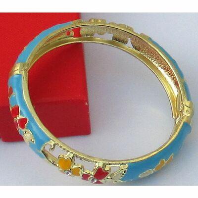 Bracelet Chinois Turqoise Motif