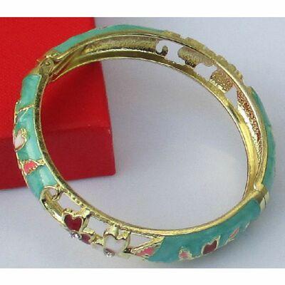 Bracelet Cloisonne Bleu Ciel