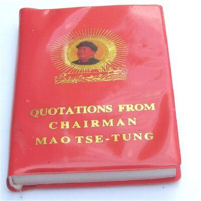 Citations Mao Président Chinois Langue Anglais