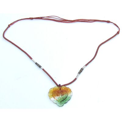 Collier Chinois Verre Amour