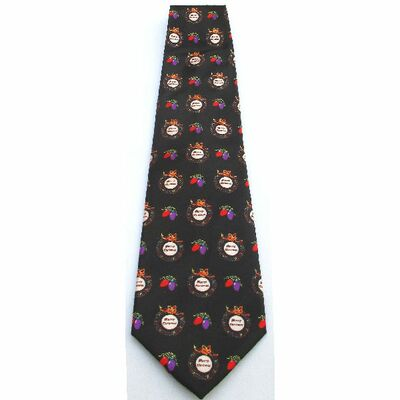 Cravate Noir Promotion