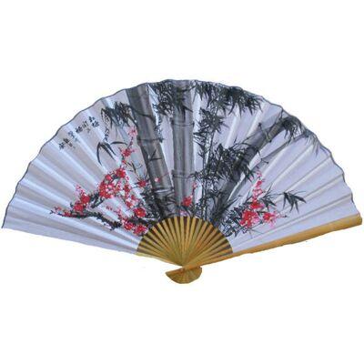 Eventail Motif Bamboo