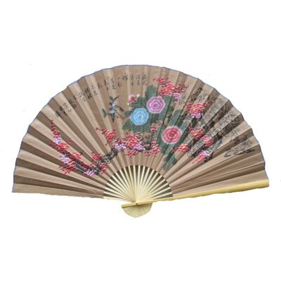 Eventail de Decoration Chinoise