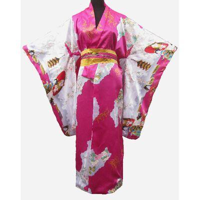 Kimono Japon Femme Fushia