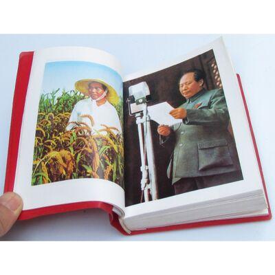 Livre Rouge Chinois Mao Version Anglais