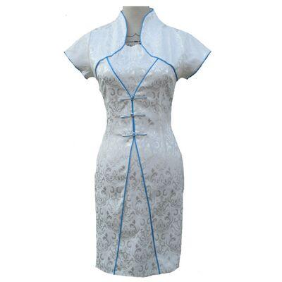 Robe Chinoise Blanche