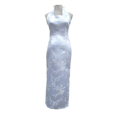 Robe Chinoise Longue Blanche