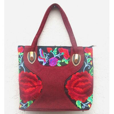 Sac a Main Chinois Rouge Pas Cher