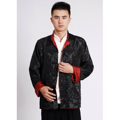 Veste Chinoise Homme Reversible