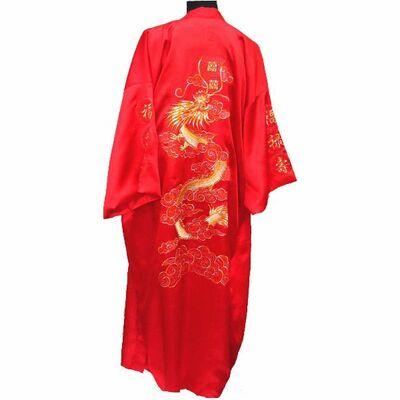 Peignoir Chinois Soie