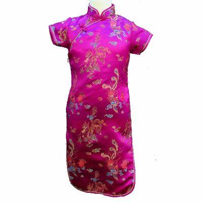 Robe Chinoise Fille Soie Princesse Mulan